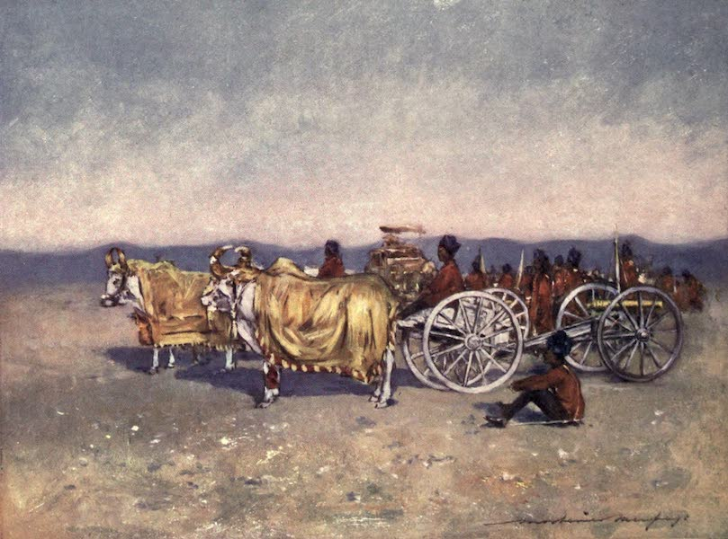 The Durbar - The Gold and Silver Cannons of Baroda (1903)