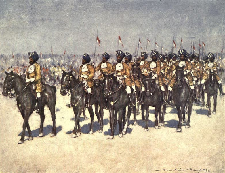The Durbar - Bombay Retainers (1903)