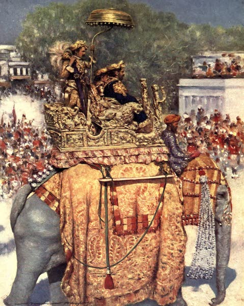 The Durbar - The State Entry : A Distinguished Maharaja (1903)