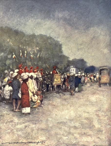 The Durbar - On the Alipur Road (1903)
