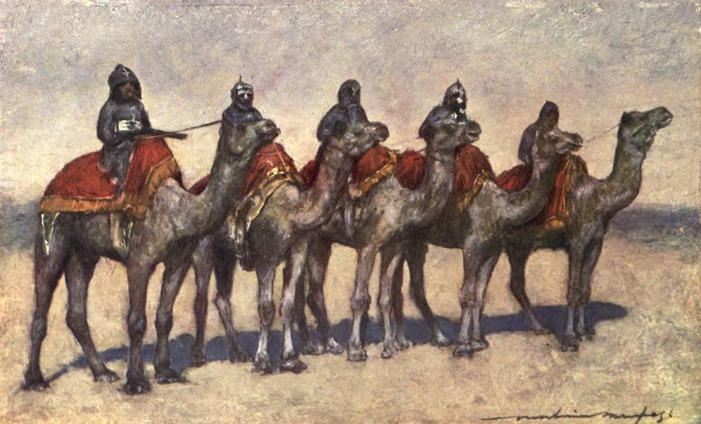 The Durbar - Armed Camel Riders from Bikanir (1903)