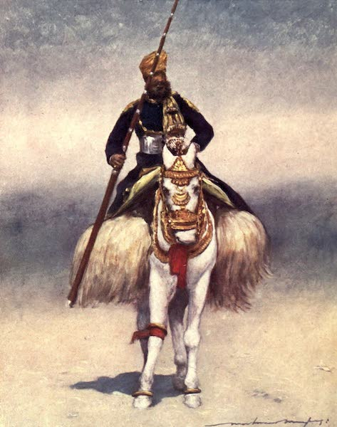 The Durbar - A Retainer from Alwar (1903)