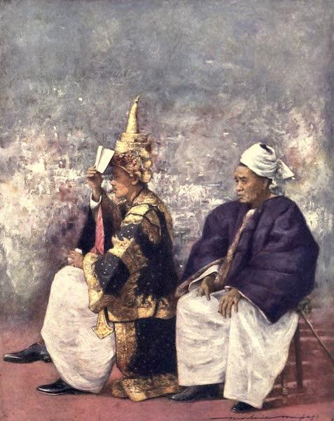The Durbar - Shan Chiefs watching the Durbar (1903)