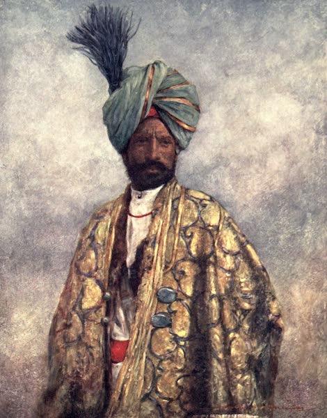 The Durbar - A Kashmiri Soldier (1903)
