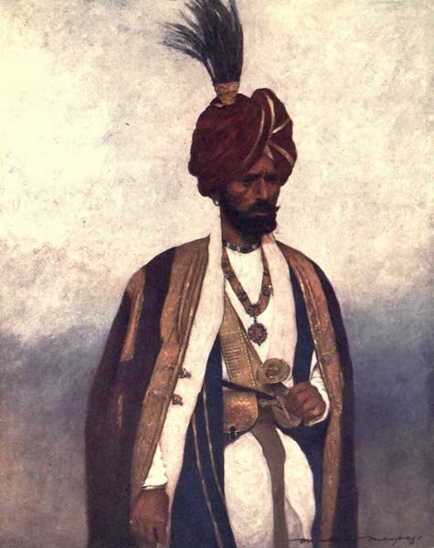 The Durbar - A Soldier of His Highness Dogra Sowar (1903)