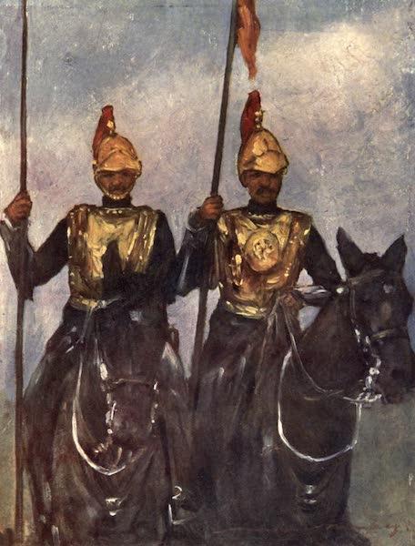 The Durbar - Bodyguard of His Highness Dogra Sowar Kashmir (1903)