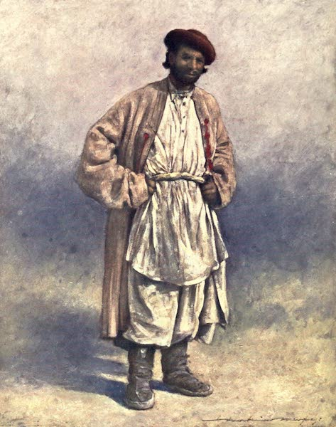 The Durbar - A Hindoo Hill-shepherd of Kashmir (1903)