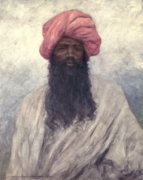 The Durbar - A Typical Baluch (1903)