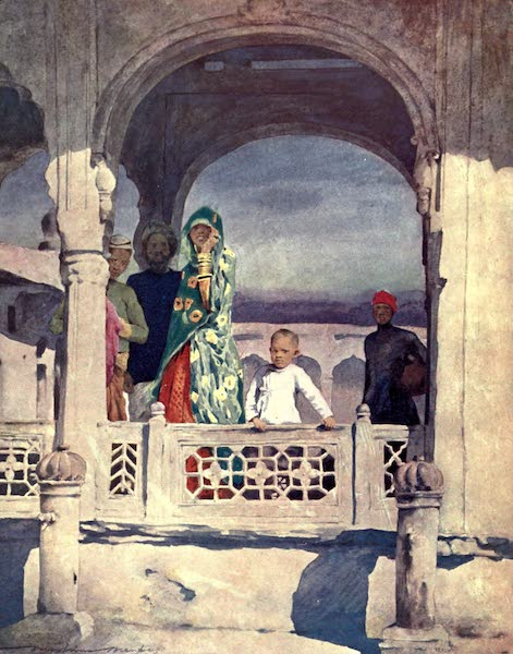 The Durbar - Watching the Pageant (1903)