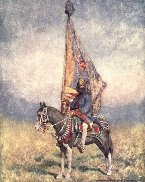 The Durbar - A Standard-bearer of Cutch (1903)