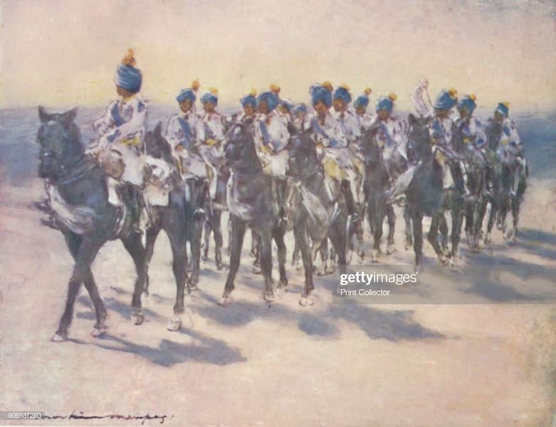 The Durbar - The Imperial Cadet Corps at the Durbar (1903)