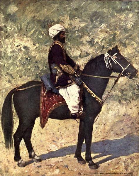 The Durbar - Horseman at the Bombay Camp (1903)