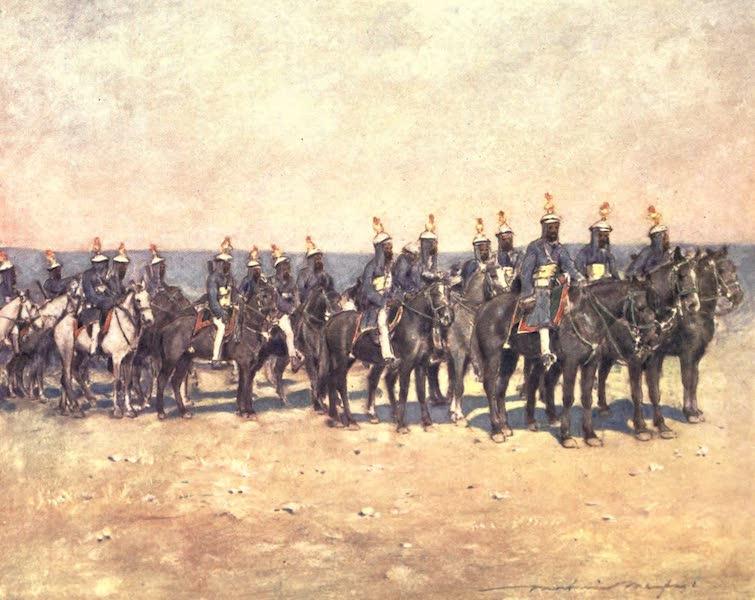The Durbar - Armoured Horsemen of Kishengarh (1903)