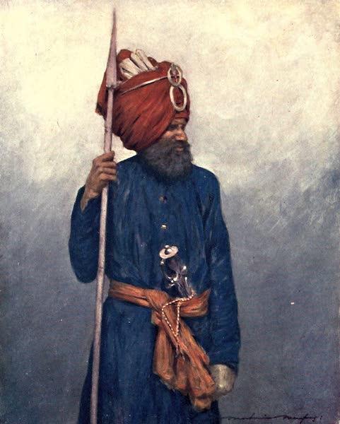 The Durbar - Spear-bearerfrom Jind (1903)