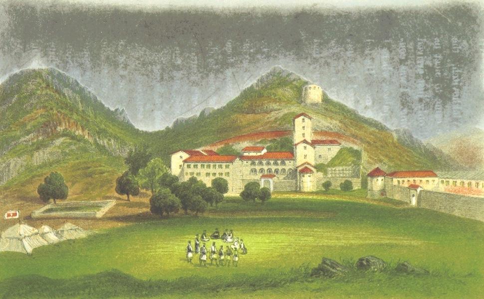 The Eastern Shores of the Adriatic - Tsetinje (1864)