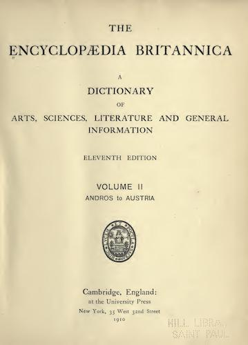 World - Encyclopaedia Britannica Vol. 2