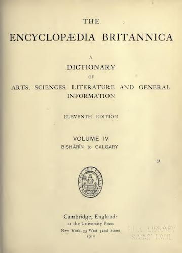 World - Encyclopaedia Britannica Vol. 4
