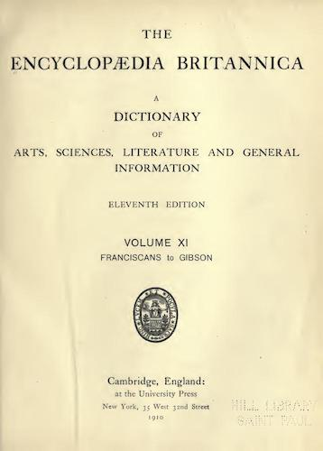 World - Encyclopaedia Britannica Vol. 11