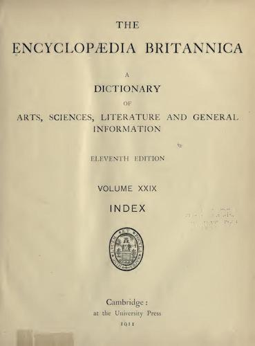 World - Encyclopaedia Britannica Vol. 29