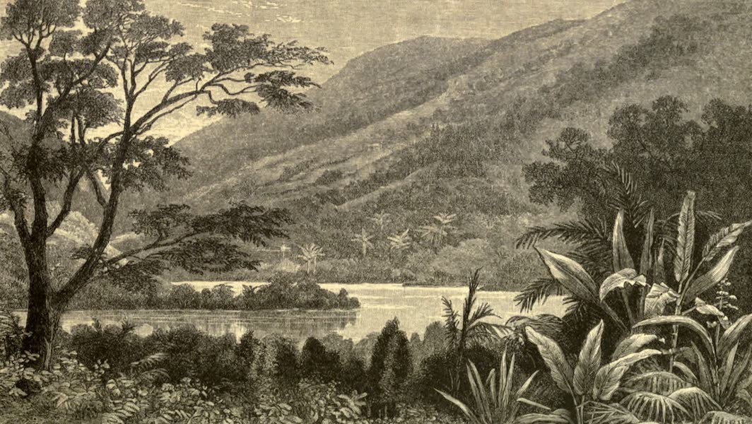 The English in the West Indies - Mountain Crater, Dominica (1888)