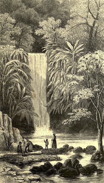 The English in the West Indies - Blue Basin, Trinidad (1888)