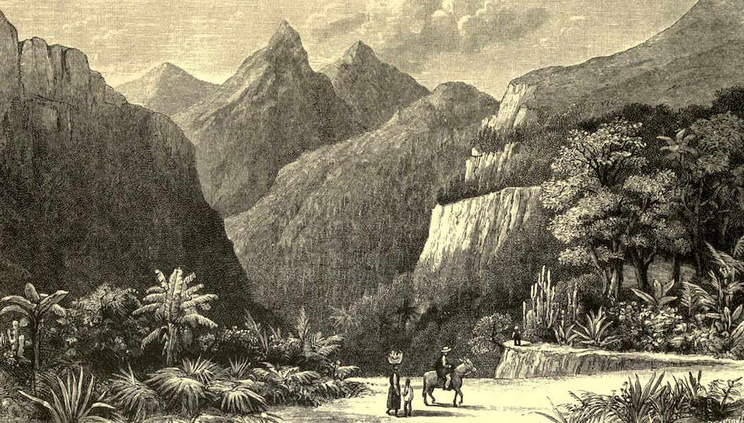 The English in the West Indies - Morning Walk, Dominica (1888)