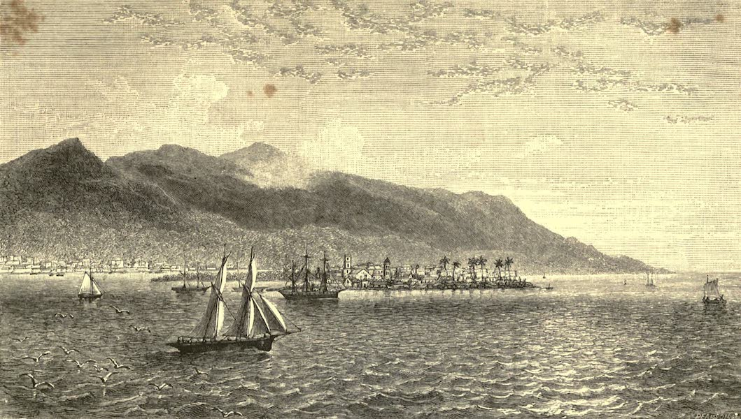 The English in the West Indies - Port Royal, Jamaica (1888)