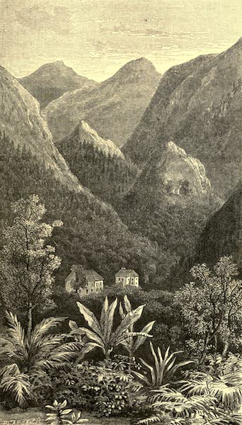 The English in the West Indies - Valley in the Blue Mountains, Jamaica (1888)