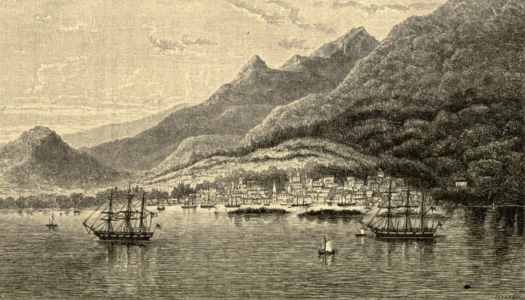 The English in the West Indies - Port au Prince, Hayti (1888)
