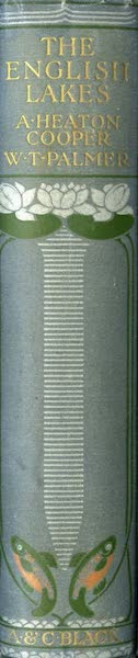 The English Lakes Painted and Described - Spine (1908)