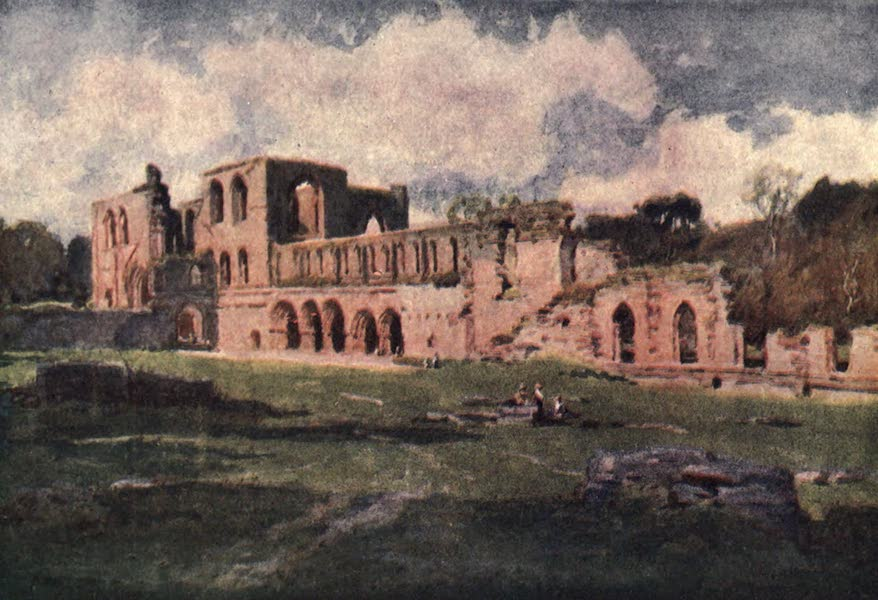 The English Lakes Painted and Described - Furness Abbey in the Vale of Nightshade (1908)