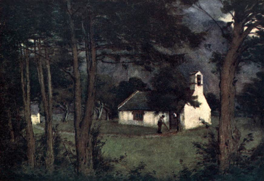 The English Lakes Painted and Described - Wastdalehead Church (1908)