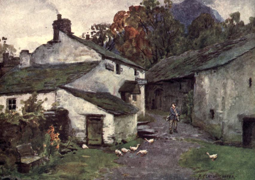 The English Lakes Painted and Described - The Old Post Office, Loweswater (1908)