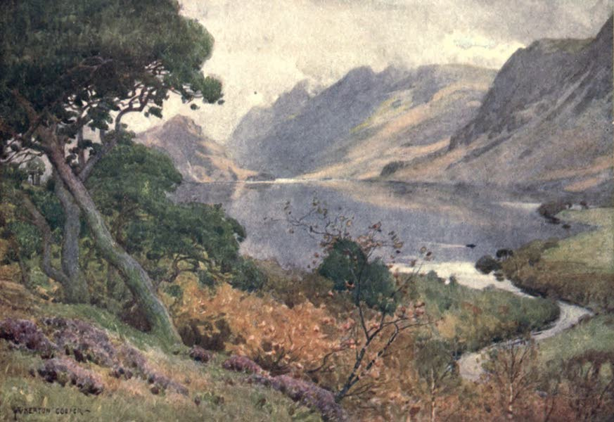 The English Lakes Painted and Described - Crummock Water, from Scale Hill (1908)