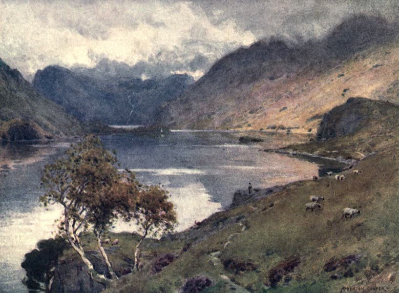 The English Lakes Painted and Described - Crummock Water and Buttermere (1908)