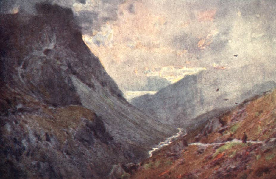 The English Lakes Painted and Described - Honister Pass and Buttermere (1908)