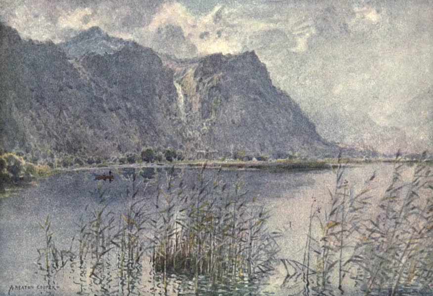 The English Lakes Painted and Described - Lodore and Derwentwater (a summer's morn) (1908)