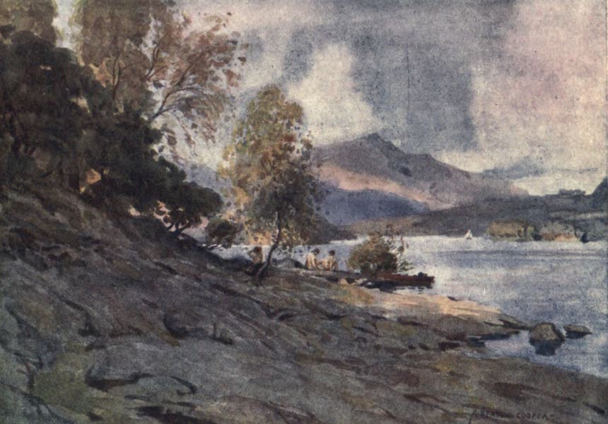 The English Lakes Painted and Described - By the Shores of Derwentwater (1908)