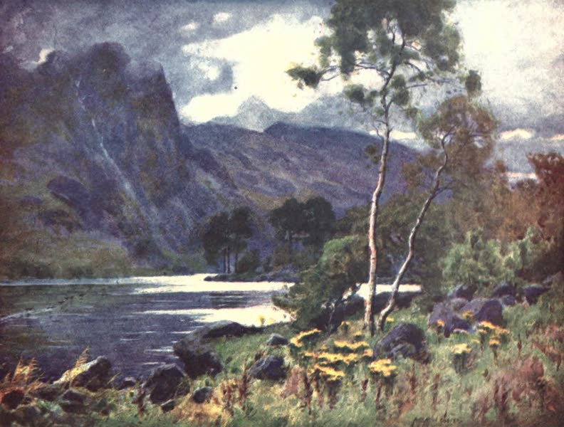 The English Lakes Painted and Described - Raven Crag, Thirlmere (1908)