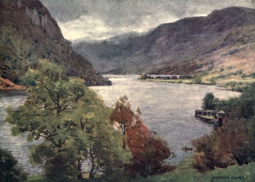 The English Lakes Painted and Described - Haweswater (1908)