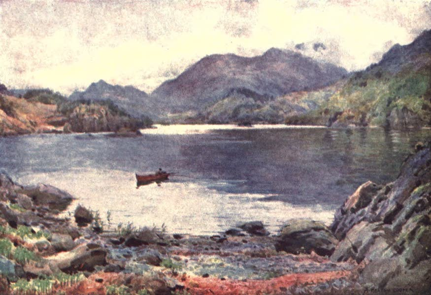 The English Lakes Painted and Described - Ullswater, Silver Bay (1908)