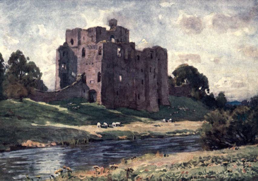 The English Lakes Painted and Described - Brougham Castle, Penrith (1908)