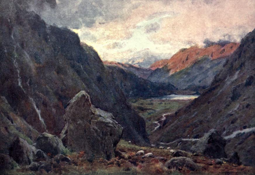 The English Lakes Painted and Described - Kirkstone Pass and Brothers' Water (1908)