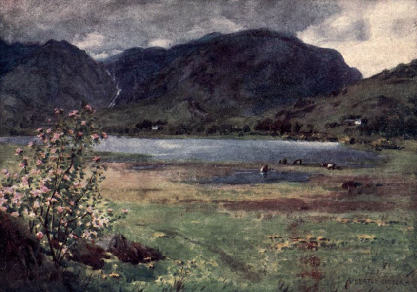 The English Lakes Painted and Described - Little Langdale Tarn (1908)