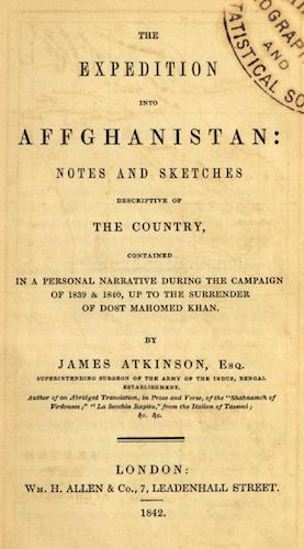 World Digital Library - The Expedition into Affghanistan