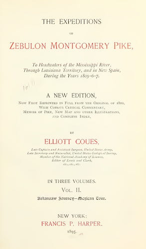 New York Public Library - The Expeditions of Zebulon Montgomery Pike Vol. 2