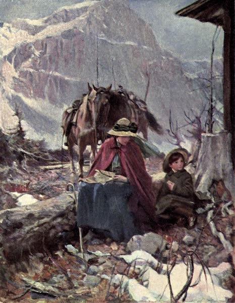 The Fair Dominion - The Halt. Saddleback. Laggan (1911)