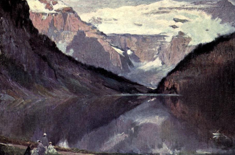 The Fair Dominion - Lake Louise. Laggan. Alberta (1911)