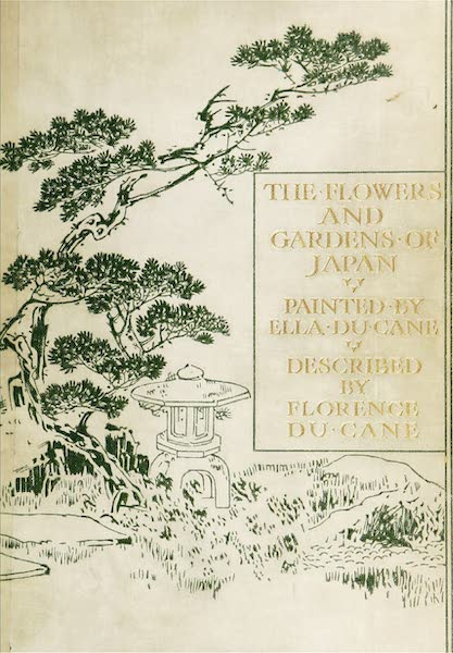 The Flowers and Gardens of Japan - Front Cover (1908)