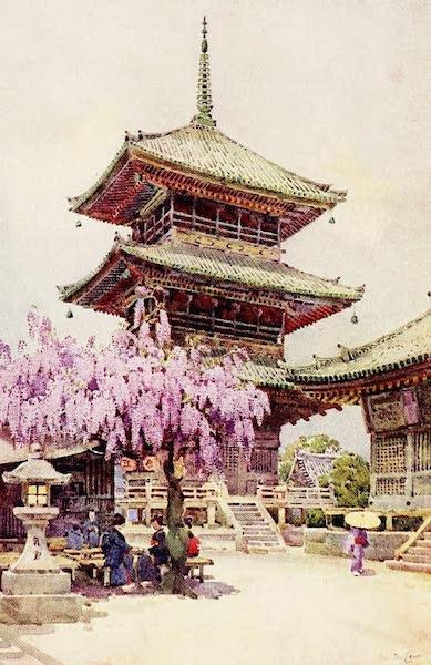 The Flowers and Gardens of Japan - Wistaria, Kyomidzu (1908)